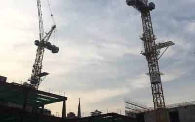무스마, 현대건설 테헤란로 현장에 크레인 충돌방지 시스템 도입